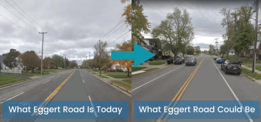 Reimagining Eggert Road